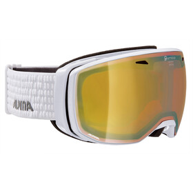 Alpina Estetica QMM Lunettes de protection, white q gold spherical